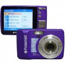 NEW Polaroid i834 Purple 8.0 Megapixel Digital Camera