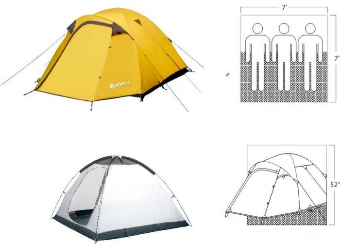 NEW Mt Washington 2 Person 3 Season Plus Tent