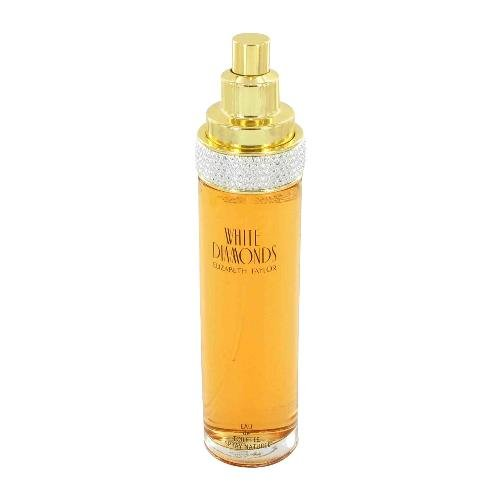 NEW White Diamonds Perfume by Elizabeth Taylor for Women  Eau De Toilette Spray 3.4oz Tester SAVE!