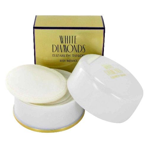 NEW White Diamonds Perfume by Elizabeth Taylor for Women - Dusting Powder 2.6oz