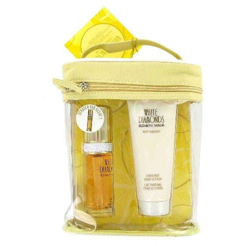 NEW White Diamonds Perfume by Elizabeth Taylor for Women - Gift Set