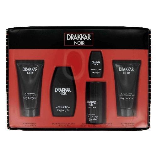 NEW Drakkar Noir Cologne by Guy Laroche for Men - Gift Set