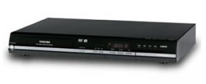 Toshiba D-KR10 DivX Certified DVD Recorder with 1080p Upconversion and Front DV Input