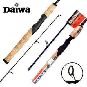 NEW DAIWA® 2-PC GRAPHITE SPINNING ROD