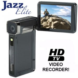 NEW JAZZ® ELITE HI-DEFINITION VIDEO CAMERA