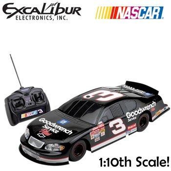 NEW EXCALIBUR® NASCAR 1:10TH SCALE RADIO CONTROL CAR