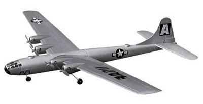 NEW AIR WARRIOR 4-ENGINE RADIO CONTROL SUPER FORTRESS B-29 BOMBER