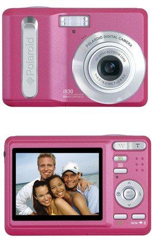 NEW Polaroid i830 Pink 8 MP Digital Camera w/ 3x Optical Zoom