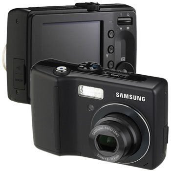 Samsung S630 6MP 3x Optical/5x Digital Zoom Camera (Black or Red)