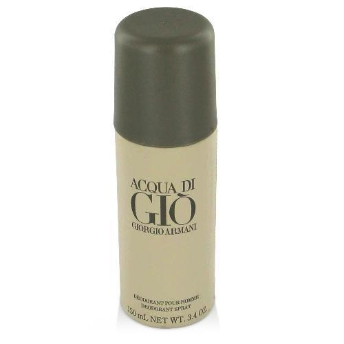 NEW Acqua Di Gio Cologne by Giorgio Armani for Men - Deodorant Spray (Can) 3.4 oz