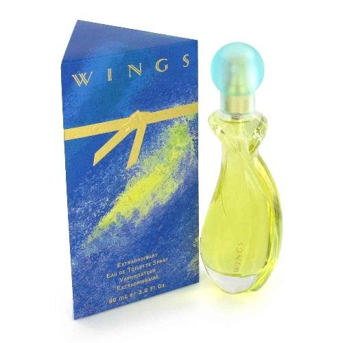 NEW Wings Perfume by Giorgio Beverly Hills for Women - Eau De Toilette Spray 3oz.