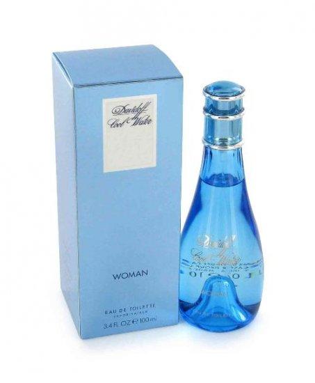 NEW Cool Water Perfume by Davidoff for Women - Eau De Toilette Spray 3.4oz.