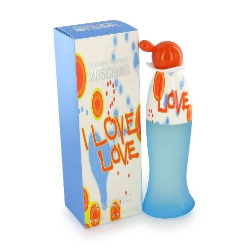 NEW I Love Love Perfume by Moschino for Women - Eau De Toilette Spray 1.7oz.