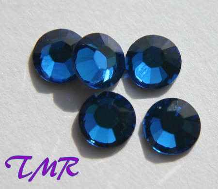 20ss Swarovski Rhinestones HOT FIX 144 pcs ~CAPRI BLUE
