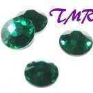 20ss Swarovski Rhinestones HOT FIX 72 pcs ~EMERALD
