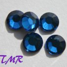 20ss Swarovski Rhinestones HOT FIX 72 pcs ~CAPRI BLUE
