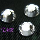 12ss Swarovski Rhinestones  HOT FIX 72 pcs ~CRYSTAL~