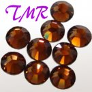 20ss Swarovski Rhinestones HOT FIX 72 pcs ~SMOKED TOPAZ