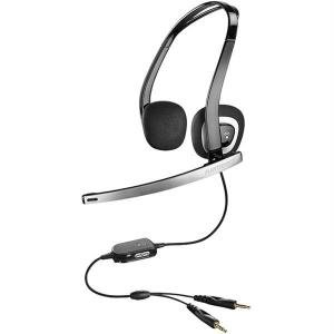 Plantronics Enhanced Multimedia Pc Headset DBAUDIO-330 *FREE SHIPPING*