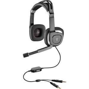 Plantronics Stereo Pc Headset With Bass Response DBAUDIO-350 *FREE SHIPPING*