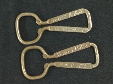 2 Vintage Coca-Cola Bottle Openers