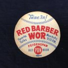 Feigenspan PON Beer coaster Red Barber Vintage Baseball