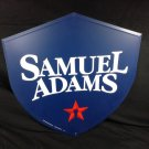 Samuel Adams Beer Sign Tin Boston Lager