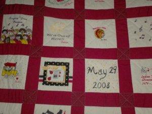 Custom Memory Quilts
