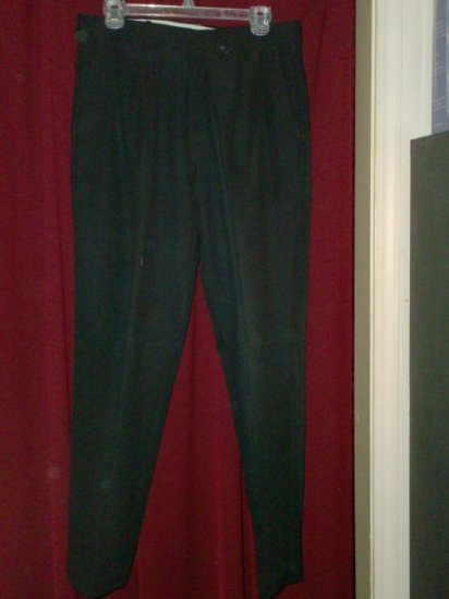 Mens Black Dress Pants, Size 33 x 32