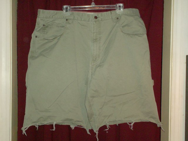 Hilfiger Green Denim Carpenter Shorts, size 42