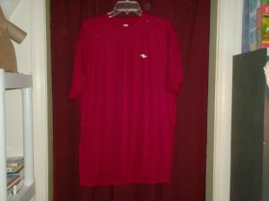 Athletic Works T-shirt, Burgundy, Nearly New, Size Medium