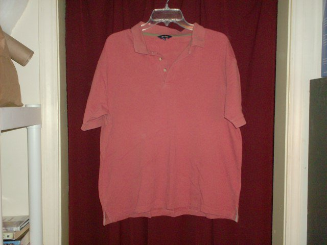 Peter Storm Dark Orange Polo Shirt, size Large