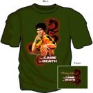 THE GAME OF DEATH BRUCE LEE ADULT TEE