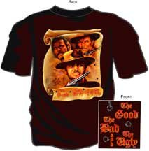 THE GOOD, THE BAD AND THE UGLY ADULT TEE