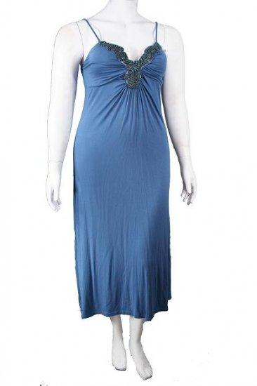 DressPlus Size # DP8556Blue
