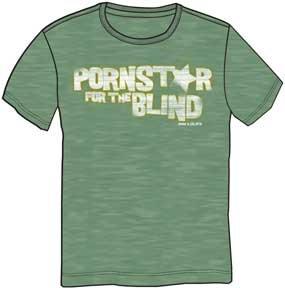 PORNSTAR BLIND MENS FIT TEE
