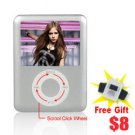 1.8 inch LCD MP4 Player Touch Scroll Click Wheel 8GB [AVM30325]