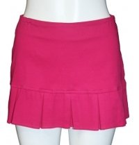 D46040-fuchsia MINI SKIRT