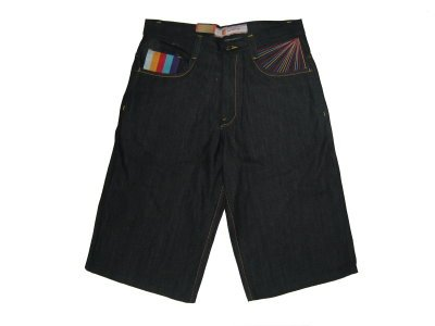 CG-129 BLACK SHORT JEANS