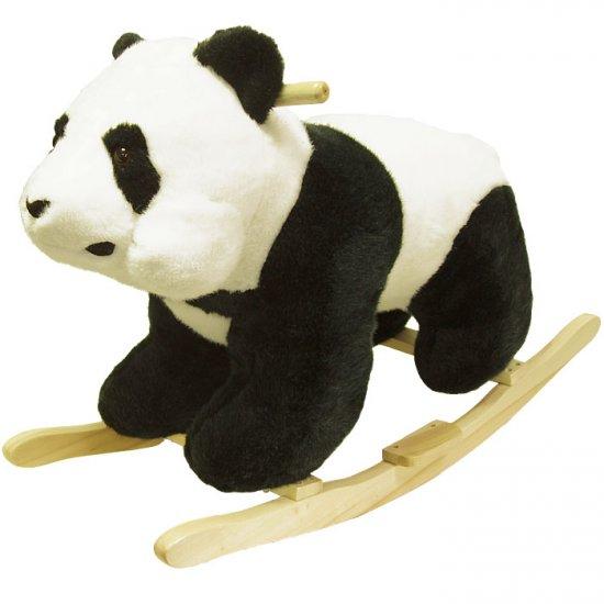 Panda Plush Rocking Animal