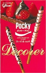 Pocky Decorer Fraise Chocolat