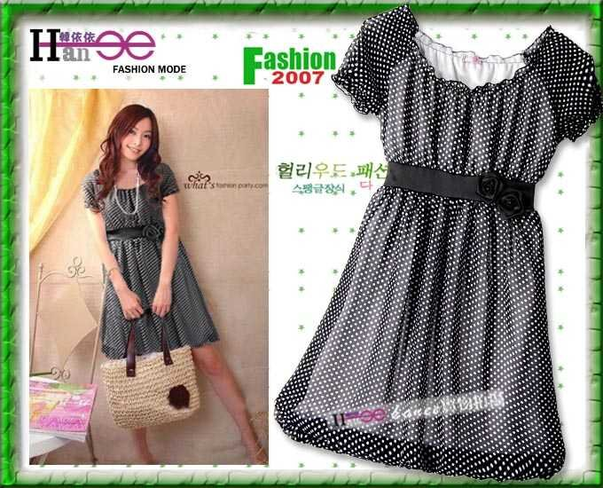 Go Vintage Polka Dot Beautiful Dress