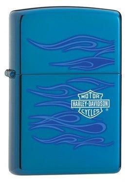 Harley Davidson Ghost Sapphire Zippo Lighter