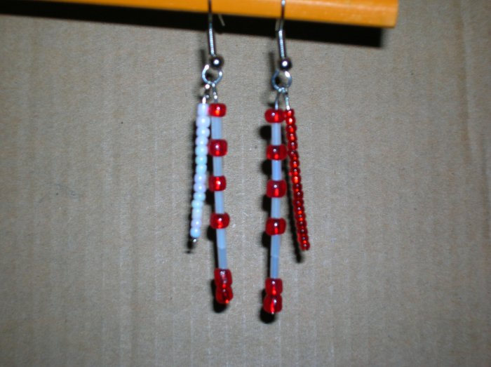 Candy cane double dangle