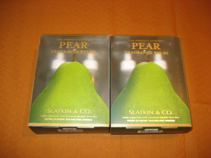 2 Bath & Body Works The Perfect Autumn Pear Wallflower Refills
