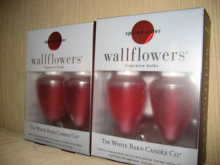 2 Boxes of Spiced Cider Wallflower Refills