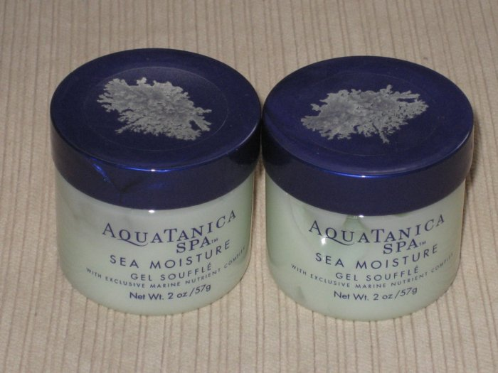 2 small size of Aquatanica Spa Sea Moisture Gel Souffle