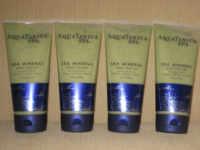 4 Aquatanica Spa Sea Mineral Body Polish