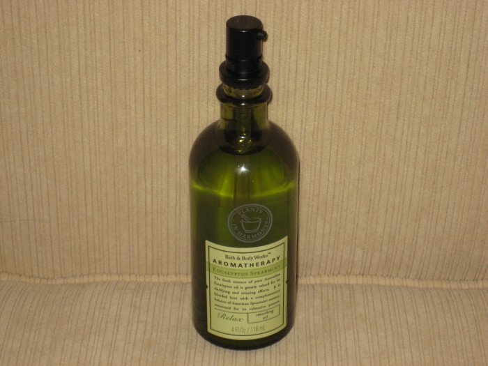 Bath & Body Works Eucalyptus Spearmint Smoothing Oil