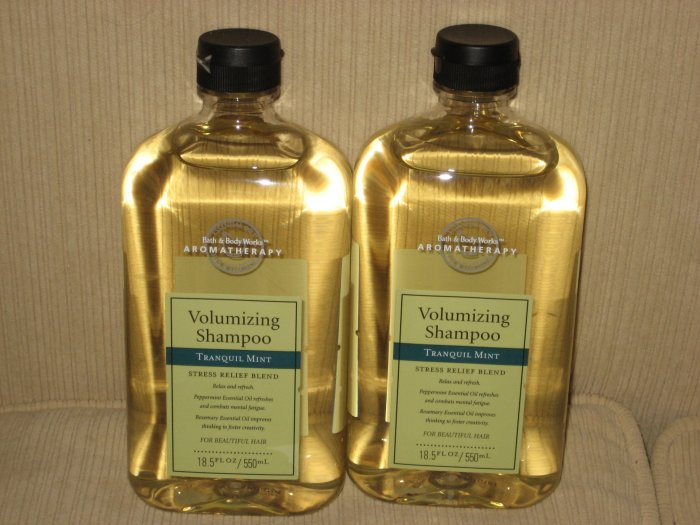 1 bottle of Aromatherapy Volumizing Shampoo Tranquil Mint
